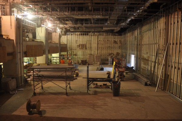The Eastland Park Hotel in Portland is being gutted and will reopen in December 2013 as a Westin property. This is a view of the ballroom, which the hotel's new owners want to return to its former elegance.