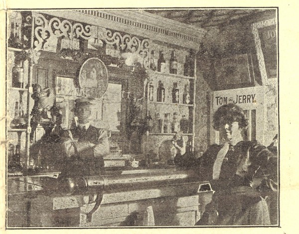 The Metropolitan Cafe at 157 Broad St. in the Devil's Half Acre was one of Bangor's finest watering holes in the first decade of the twentieth century.
