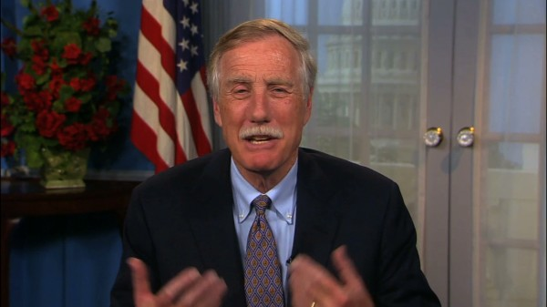Angus King answers Bangor Daily News readers questions.