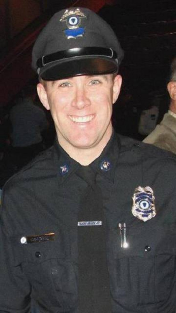 Massachusetts Bay Transportation Authority police officer Richard Donohue Jr. was injured in a shootout late April 18, 2013 with Boston Marathon bombing suspects Tamerlan and Dzhokhar Tsarnaev.