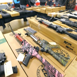 First public event at Cross Insurance Center underway with 36th annual Bangor Gun Show