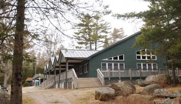 The King Dining Hall at the Bangor &quotY&quot Wilderness Center at  Camp Jordan.