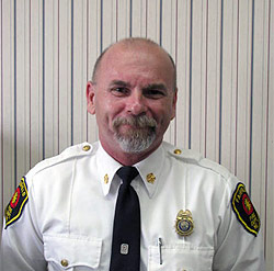 Fairfield Fire Chief Duane Bickford