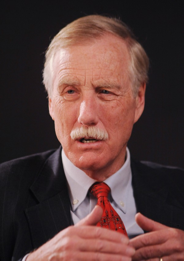 Independent Sen. Angus King