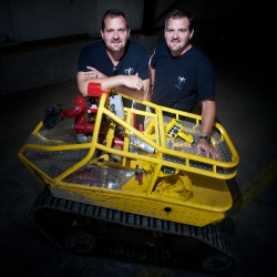 Waterboro-based company builds firefighter robots to go places where people can't