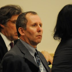 Jurors review evidence in crowbar murder trial