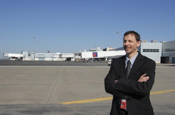 Bangor International Airport Director Tony Caruso
