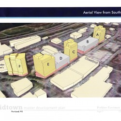 Portland residents sharply divided on plan for four new 15-story buildings