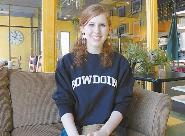 Bowdoin College junior Cindy Cammarn, who is competing in the annual Jeopardy! College Championship.