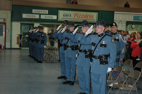 The Maine State Police welcomed 11 new troopers to the force following a graduation ceremony Friday at the Maine Criminal Justice Academy in Vassalboro.