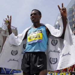 Homich finds his sporting niche at Boston Marathon