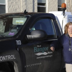Pat Pinkham is the animal control officer for the City of Bangor.