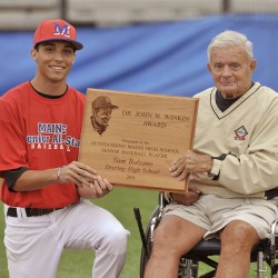 Legendary Maine college baseball coach John Winkin dies at 94