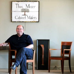 Maine furniture designer Thomas Moser sculpts the human form