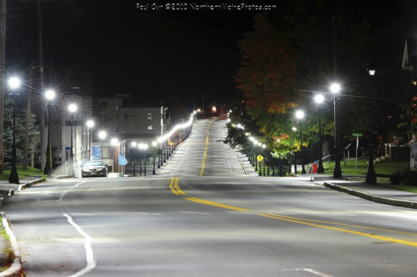 Fort Fairfield used a $58,290 grant from Efficiency Maine to replace 174 street lights with high efficiency LED lights. Officials with Efficiency Maine estimated that the move will save the town approximately $19,000 each year for at least the next 12 years.
