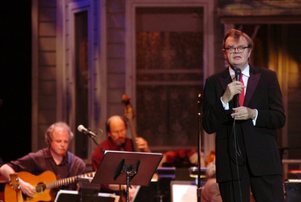 Garrison Keillor hosts &quotA Prairie Home Companion&quot at the Bangor Auditorium on Saturday, May 3, 2008. The popular radio program will be returning to Bangor in July 2013 for a non-broadcast performance.