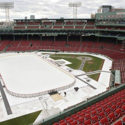 Black Bears' first Fenway ice experience 'a little weird'