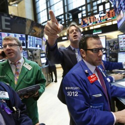 Dow, S&P 500 hit five-year highs as earnings cheer Wall Street