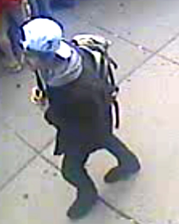 A suspect wanted for questioning in relation to the Boston Marathon bombing April 15 is shown in this handout photo during an FBI news conference in Boston, April 18, 2013.
