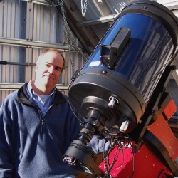 Steuben Institute showcasing Hampden astronomer's hunt for exploding stars
