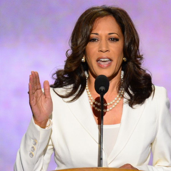 California Attorney General Kamala D. Harris speaks at the 2012 Democratic National Convention.