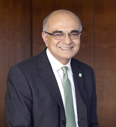 Bharat Masrani, CEO of Portland-based TD Bank since 2006, has been chosen as the next CEO of the bank's Canadian parent, Toronto-Dominion Bank.