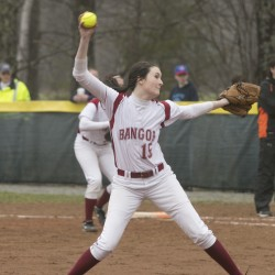 Young Edward Little softball team shows growing maturity in snapping Cony's 32-game win streak