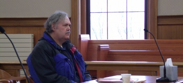Gary L. Sanders, was sentenced on Friday in Aroostook County Superior Court on two charges of unlawful sexual contact.