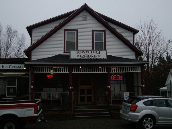 Town Hill Market in Bar Harbor, where store owner Richard Simis subdued an accused armed robber on Wednesday, April 24, 2013.