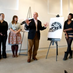 Pirates join college artists to unveil 20th anniversary logo, look forward to future in Portland