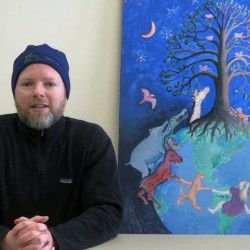 Matt Dubel, director of the Fields Pond Nature Center in Holden, appears in an online video about this weekend's HOPE festival.  He hopes that festival goers will join together in making a commitment to a healthier world.