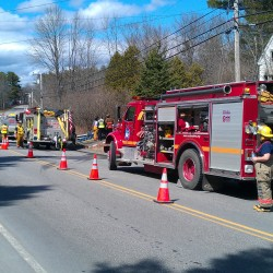 Two families displaced by fires Sunday in Bucksport