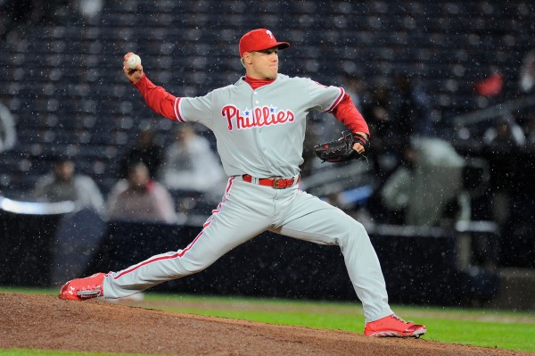 Philadelphia Phillies relief pitcher Jonathan Papelbon (58) pitches against the Atlanta Braves recently.