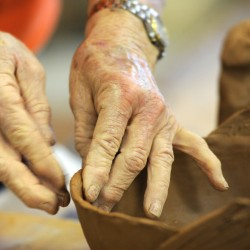 Senior center to hold pottery exhibit-sale, lunch