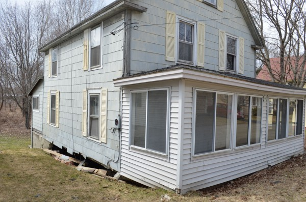 The vacant house at 9 Adams St. will be demolished by the town of Newport because of the threat that it may fall onto a neighboring home. Newport selectmen voted unanimously on Tuesday, April 16, to tear down the structure.