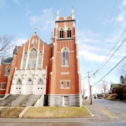 Last Mass for Auburn's St. Louis Catholic Church: Hope for the building remains, but its days as a religious, social center are over