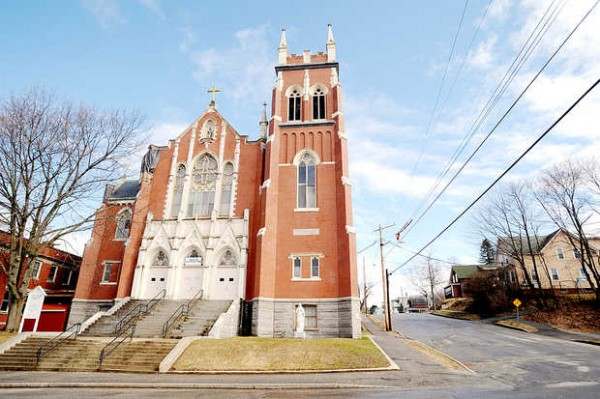 The Diocese of Portland is considering permanently closing St. Louis Church in Auburn because of structural problems.