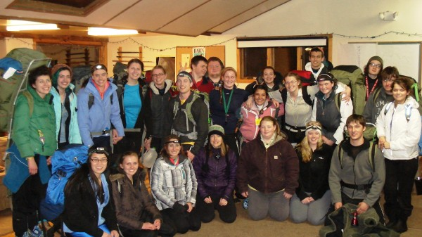 Trekkers' Class of 2013 prepares to embark on their 36-hour wilderness Rites of Passage solo in the Berkshires of Western Massachusetts.