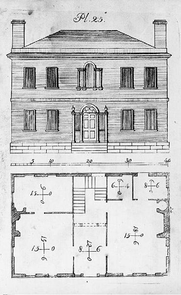 Historic houses plans House design plans
