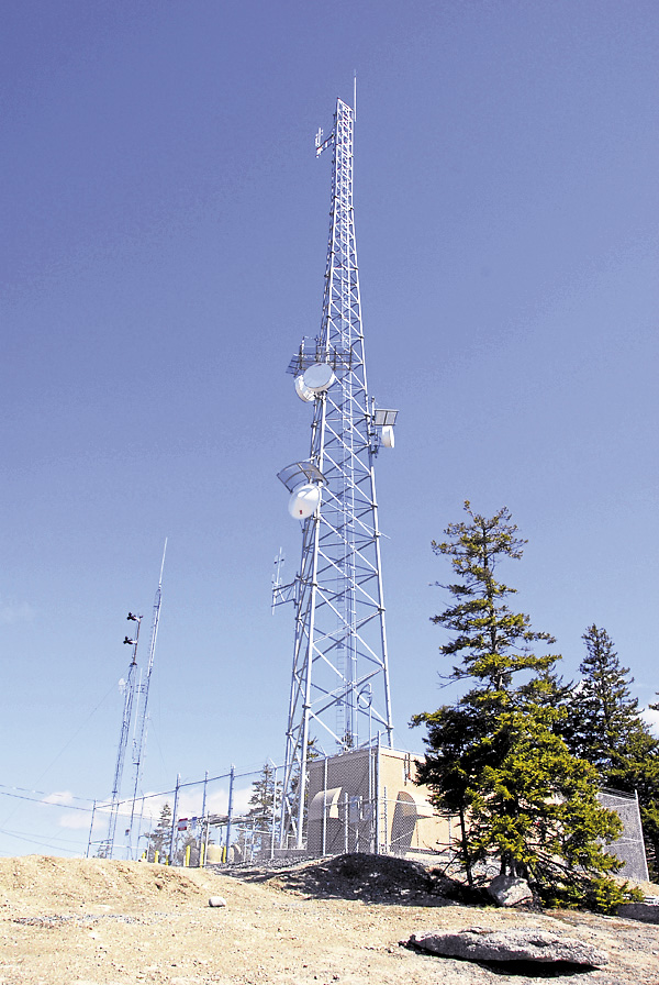 In 2012 the Department of Homeland Security constructed a new communications tower atop Bald Mountain in Dedham. There are eight other communications towers on the mountain.