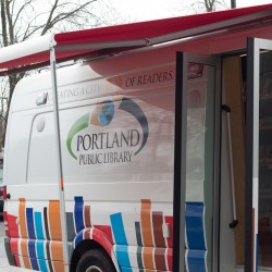 Portland library to have open house, ribbon-cutting for new bookmobile