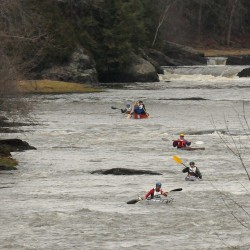 Kayaker Wirth wins season-opening St. George River Race; event draws record field