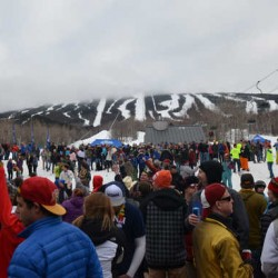 Racer receives marriage proposal at end of Sunday River's Tough Mountain Challenge