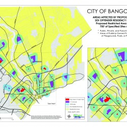 Bangor council to vote on restricting where sex offenders can live