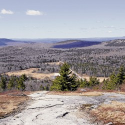 Winter hike reveals a different season on Acadia Mountain