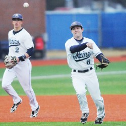 Fransoso hit in eye by pitch; UMaine baseball team beats Boston College