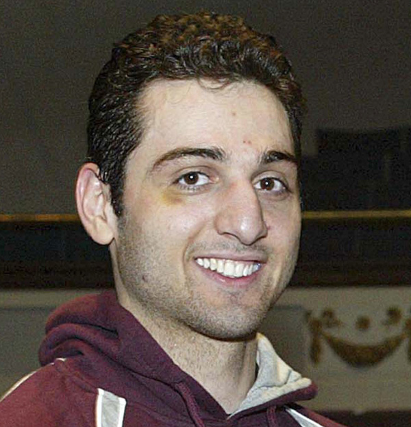 Tamerlan Tsarnaev, 26, is pictured in 2010 in Lowell, Mass.