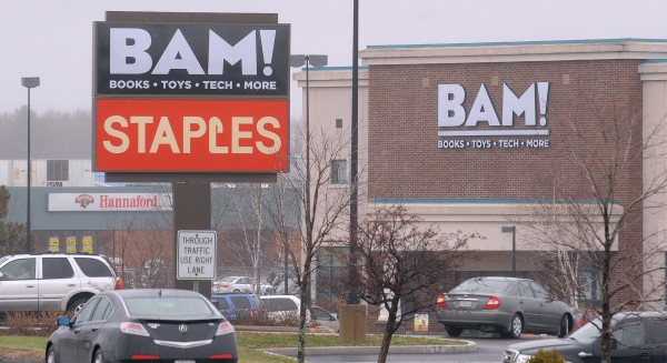 Businesses at the Bangor Mall area.