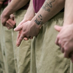 The CARA program, Criminogenic Addiction Recovery Academy, at the Kennebec County Correctional Facility was started in 2010 to address the criminal thinking associated with drug addiction. Participants in the program are habitual offenders and come from jails across the state. They are segregated from the general population and placed in their own unit for five-and-a-half weeks. They are expected to adhere to a strict set of rules and participate in extensive group therapy and class work that addresses the root of their substance abuse.