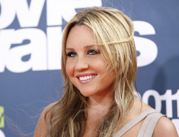 Actress Amanda Bynes arrives at the 2011 MTV Movie Awards in Los Angeles in 2011.